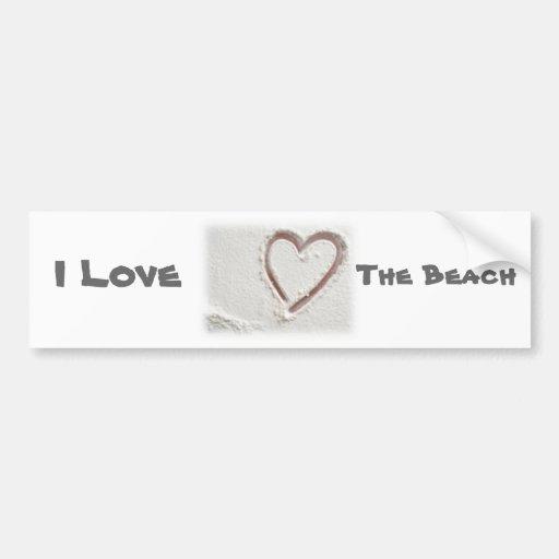 I love the beach bumper stickers