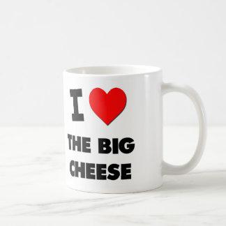 I Love The Big Cheese Basic White Mug