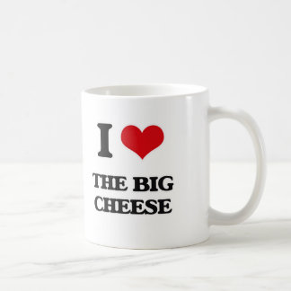 I Love The Big Cheese Coffee Mug