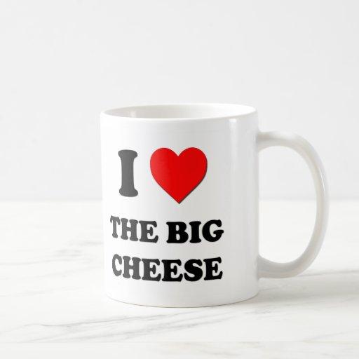 I Love The Big Cheese Coffee Mug