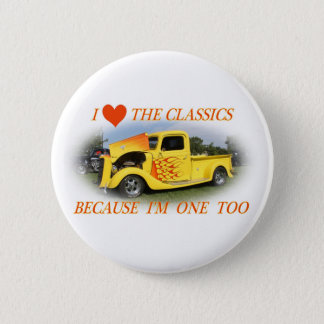 I Love The Classics 2 Inch Round Button