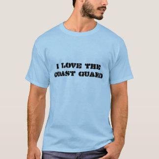 I Love the Coast Guard T-Shirt