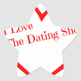 I Love The Dating Show.png Star Sticker