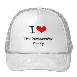 I Love The Democratic Party Trucker Hats