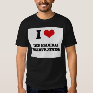 I Love The Federal Reserve System Shirts