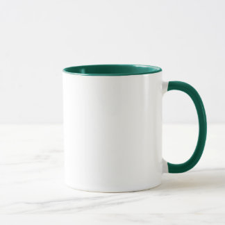 I Love the Forms green ringer mug (right-hand)