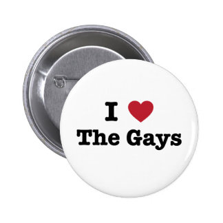 I Love The Gays Shirt Buttons