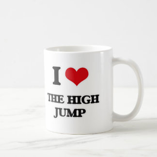 I Love The High Jump Coffee Mug