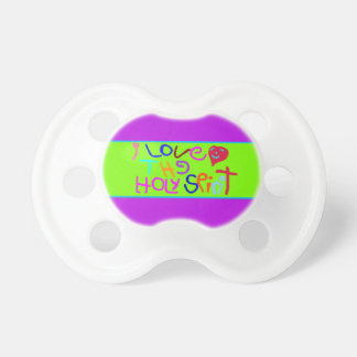 'I Love The Holy Spirit' Baby Pacifier