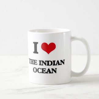 I Love The Indian Ocean Coffee Mug