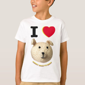 I Love The Knitted Character t-shirt YOUTH