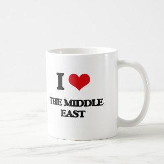 I Love The Middle East Basic White Mug