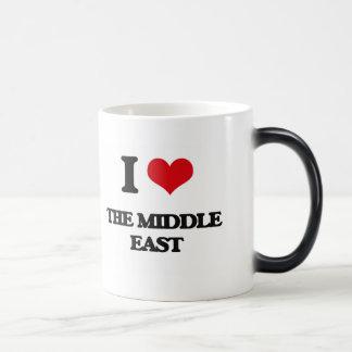 I Love The Middle East Morphing Mug