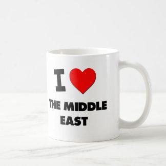 I Love The Middle East Coffee Mugs