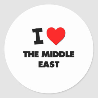 I Love The Middle East Sticker