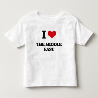 I Love The Middle East T Shirt