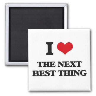 I Love The Next Best Thing Magnet