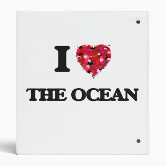 I love The Ocean Vinyl Binders