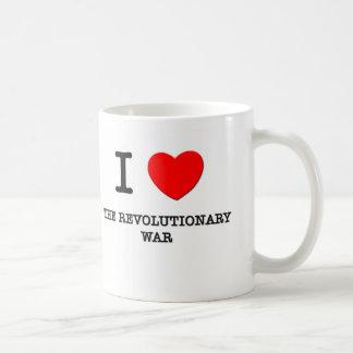 I Love The Revolutionary War Mug