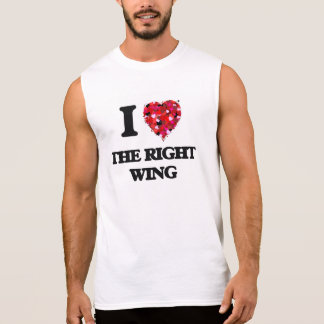 I love The Right Wing Sleeveless Shirts