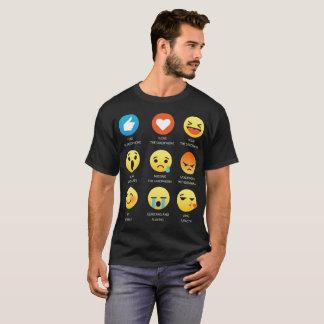 I Love The Saxophone Emoji Emoticon Graphic Tee