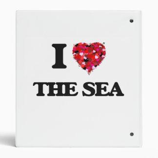 I love The Sea 3 Ring Binder