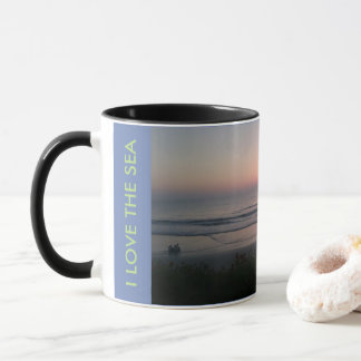 I LOVE THE SEA DRINK MUG SWEET SALT AIR