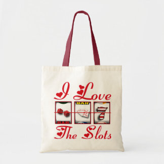 I LOVE THE SLOTS TOTE BAG