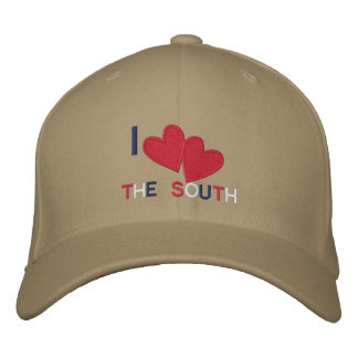 I love the South Embroidered Baseball Caps