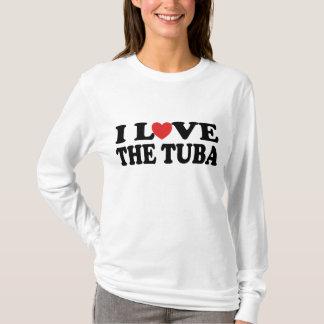 I Love The Tuba T-shirt