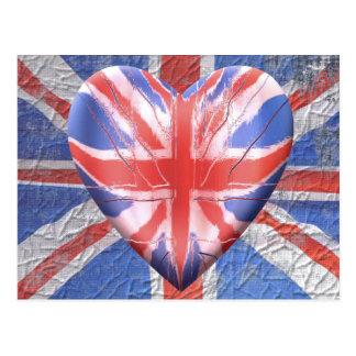 I Love the UK! Postcards