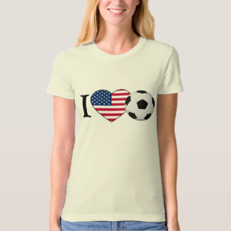 I Love the USA Soccer T-Shirt