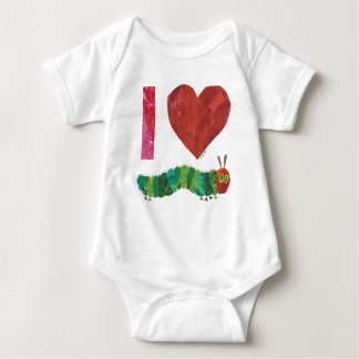 I Love The Very Hungry Caterpillar Baby Bodysuit