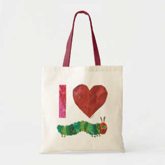 I Love The Very Hungry Caterpillar Tote Bag