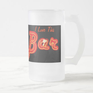 I Love This Bar Mug