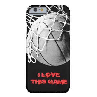 I Love This Game Basketball iPhone 6 Cover