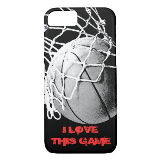 I Love This Game - Basketball iPhone 7 Cover