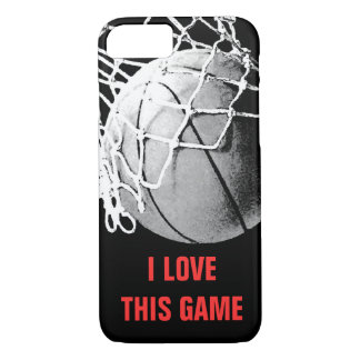 I Love This Game Basketball Unique iPhone 7 Case