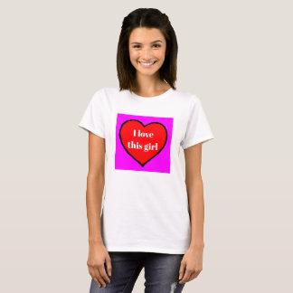 I Love This Girl Valentine's Holiday Gift Shirt