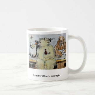 I love this guy, Copyright 2008 Anne Garavaglia... Coffee Mug