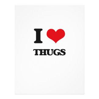 I love Thugs Full Colour Flyer