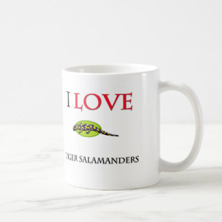 I Love Tiger Salamanders Coffee Mug