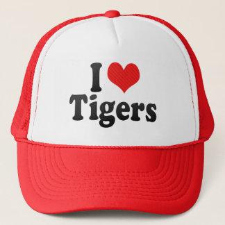 I Love Tigers Trucker Hat