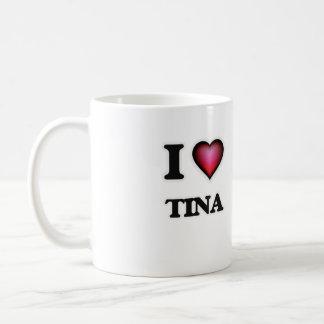 I Love Tina Coffee Mug