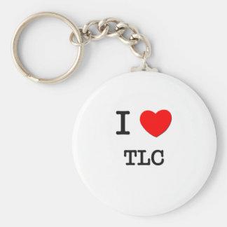 I Love Tlc Keychain