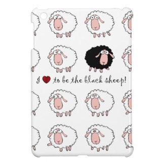 I love to be the black sheep iPad mini cases