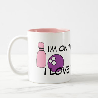 I love to bowl Mug
