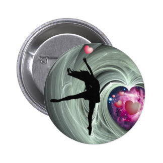 I Love To Dance! 2 Inch Round Button