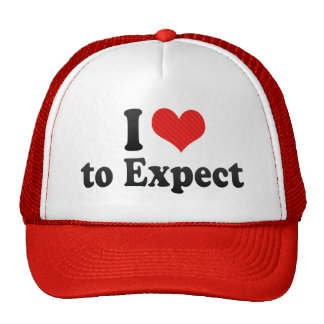 I Love to Expect Trucker Hat