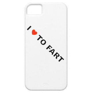 I LOVE TO FART iPhone 5 CASE